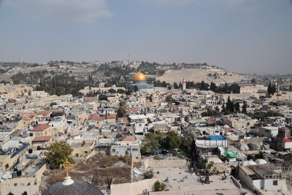Temple Mount Orchard Hill Church Israel Tour