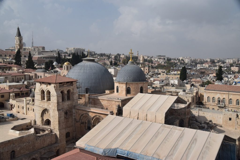 Holy Sepulcher Orchard Hill Church Israel Tour