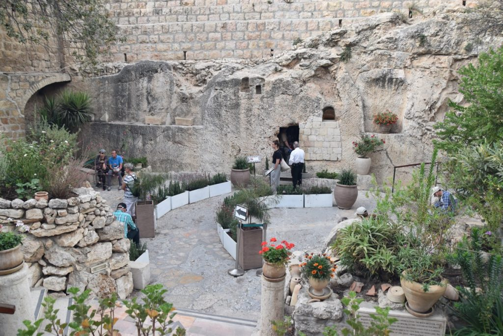 Garden Tomb Orchard Hill Church Israel Tour