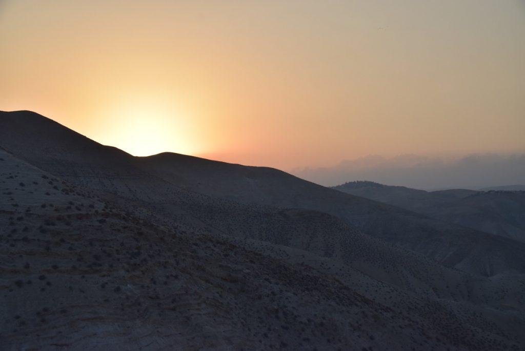 Wadi Qelt Judean Desert Orchard Hill Israel Tour with John DeLancey