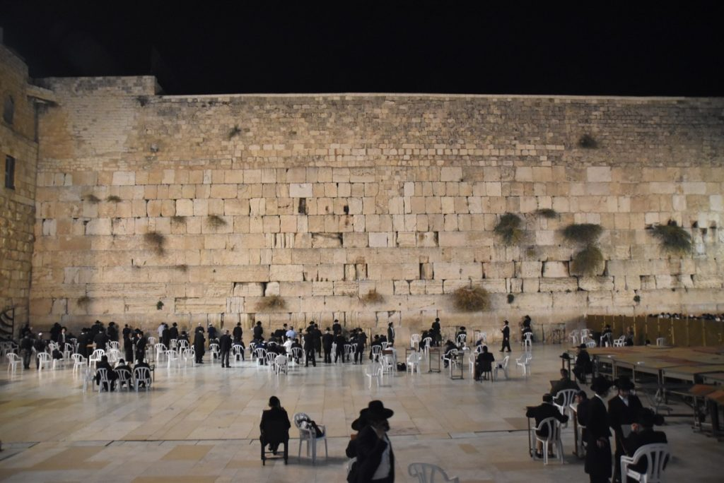 Western Wall Orchard Hill Israel Tour with John DeLancey