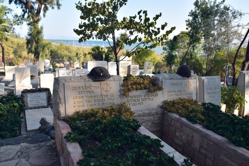 Kinneret cemetery Nov 2018 Israel Tour with John DeLancey