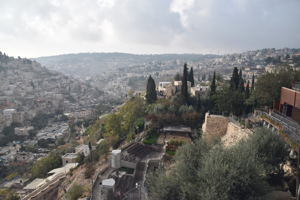 Jerusalem City of David Nov 2018 Israel Tour John DeLancey