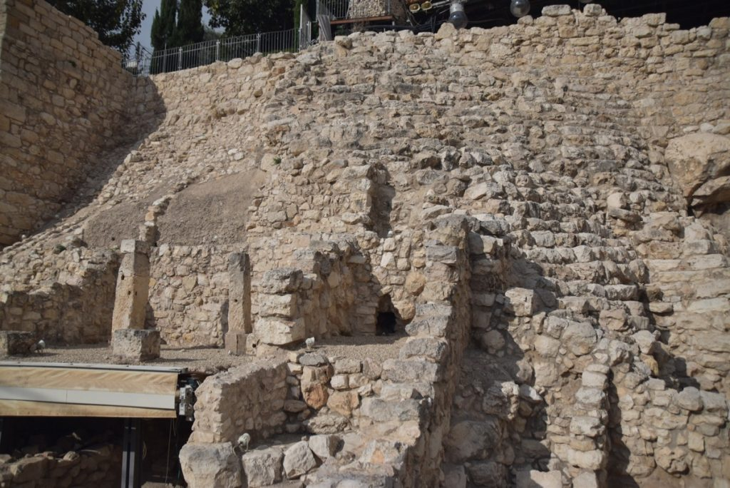 Jerusalem City of David Nov 2018 Israel Tour John DeLancey
