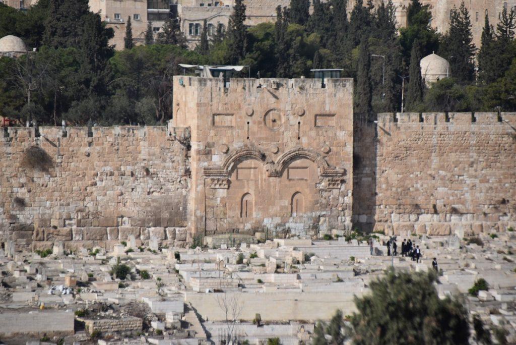 Jerusalem Eastern Gate Nov 2018 Israel Tour John DeLancey