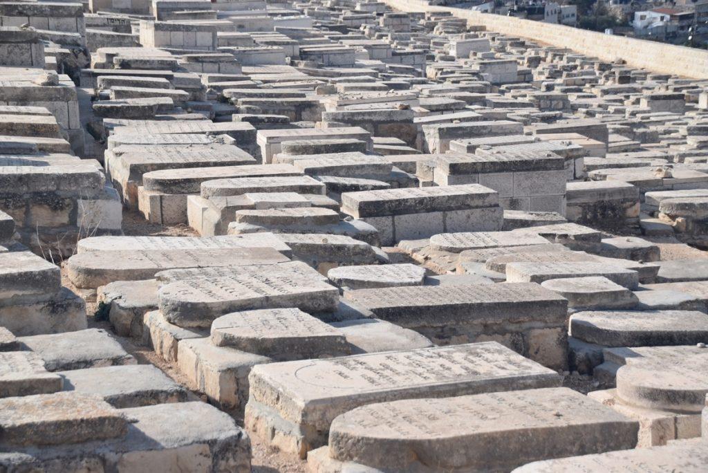 Jerusalem Jewish cemetery Nov 2018 Israel Tour John DeLancey