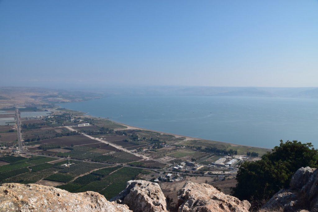 Arbel Sea of Galilee November 2018 Israel Tour with John DeLancey