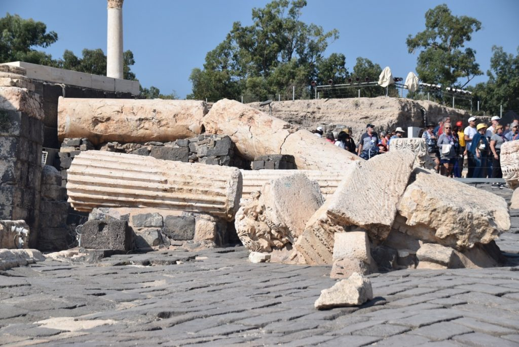 Beit Shean Nov 2018 Israel Tour with John DeLancey