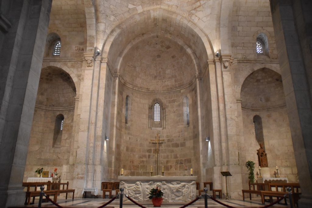 Jerusalem St. Anne's Church Nov 2018 Israel Tour John DeLancey