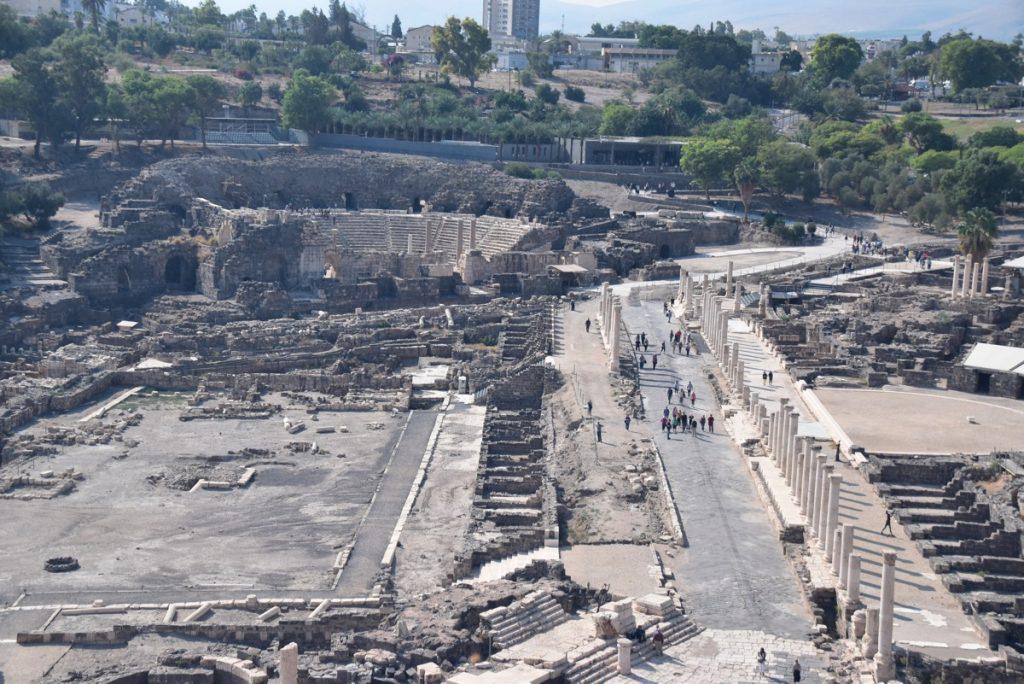 Beth Shean Nov 2018 Israel Tour with John DeLancey