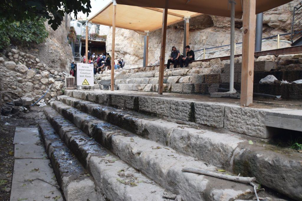 Pool of Siloam Nov 2018 Israel Tour John DeLancey