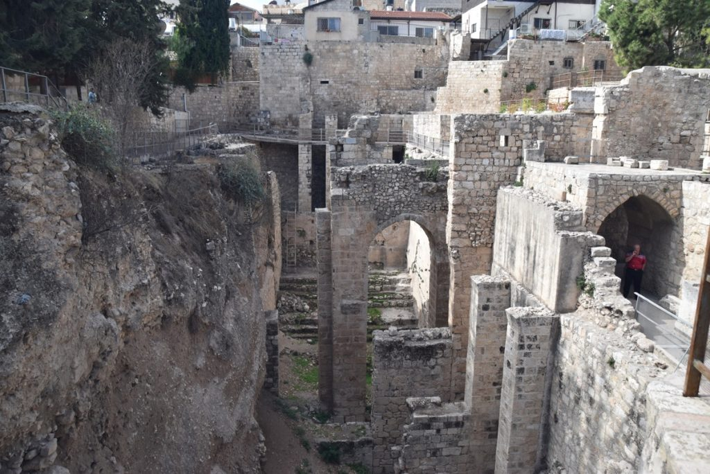 Jerusalem Pools of Bethesda Nov 2018 Israel Tour John DeLancey