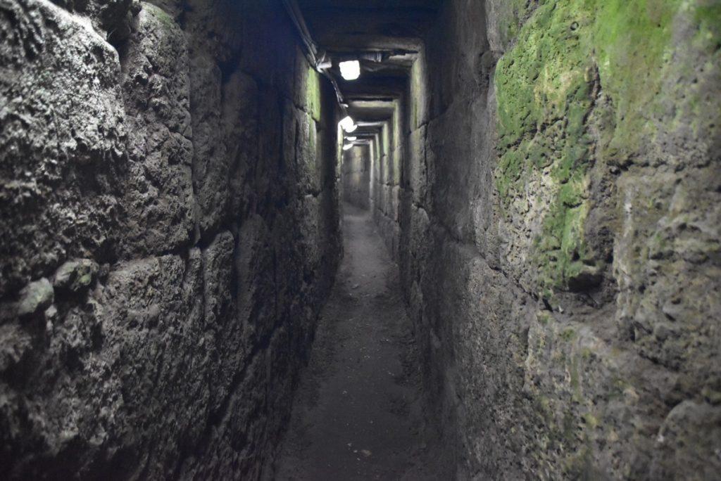 Jerusalem drainage channel Nov 2018 Israel Tour John DeLancey