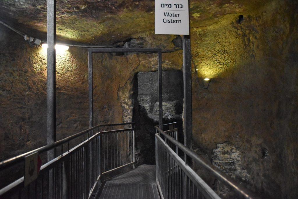 Jerusalem City of David cistern Nov 2018 Israel Tour John DeLancey