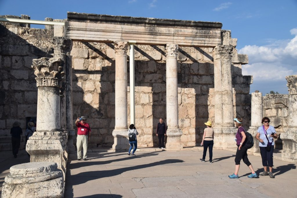 Capernaum November 2018 Israel Tour with John DeLancey