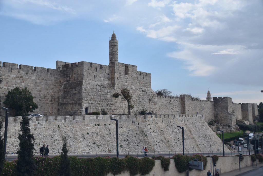 David's citadel Jerusalem Nov 2018 Israel Tour John DeLancey
