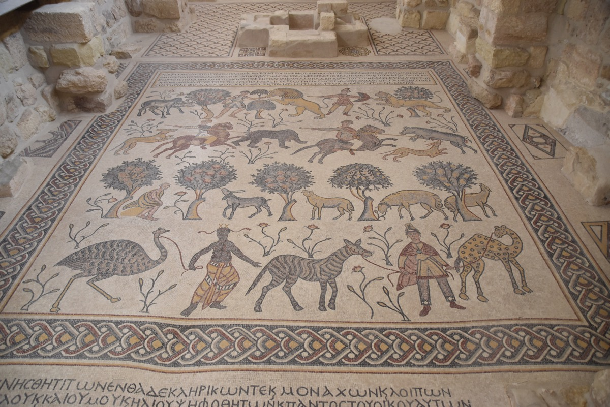Mt. Nebo Mosaics