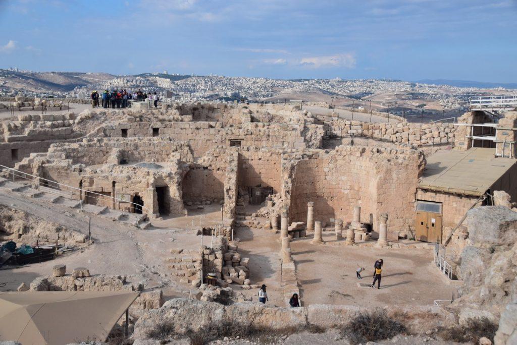 Herodium Nov 2018 Israel Tour John DeLancey