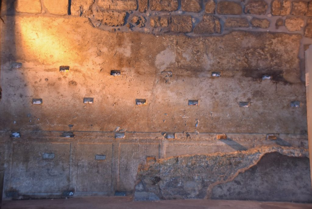 Western Wall tunnel November 2018 Israel Tour John DeLancey