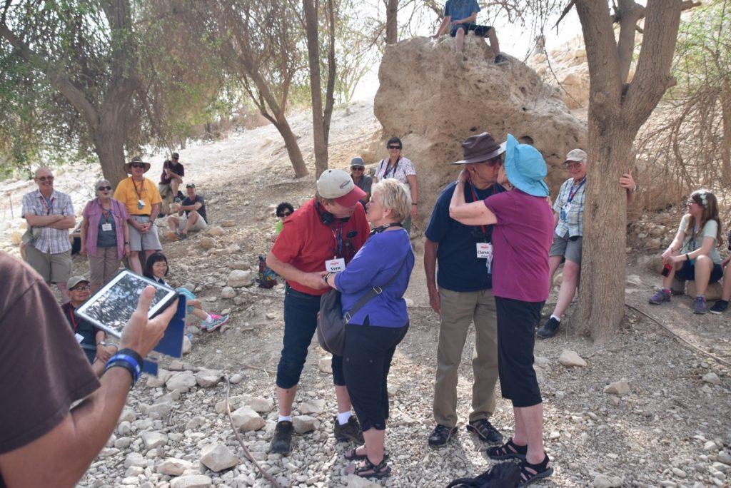 Engedi Israel Tour Nov 2018 John DeLancey