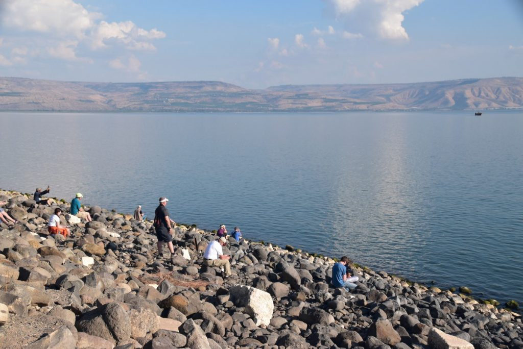 Sea of Galilee November 2018 Israel Tour with John DeLancey