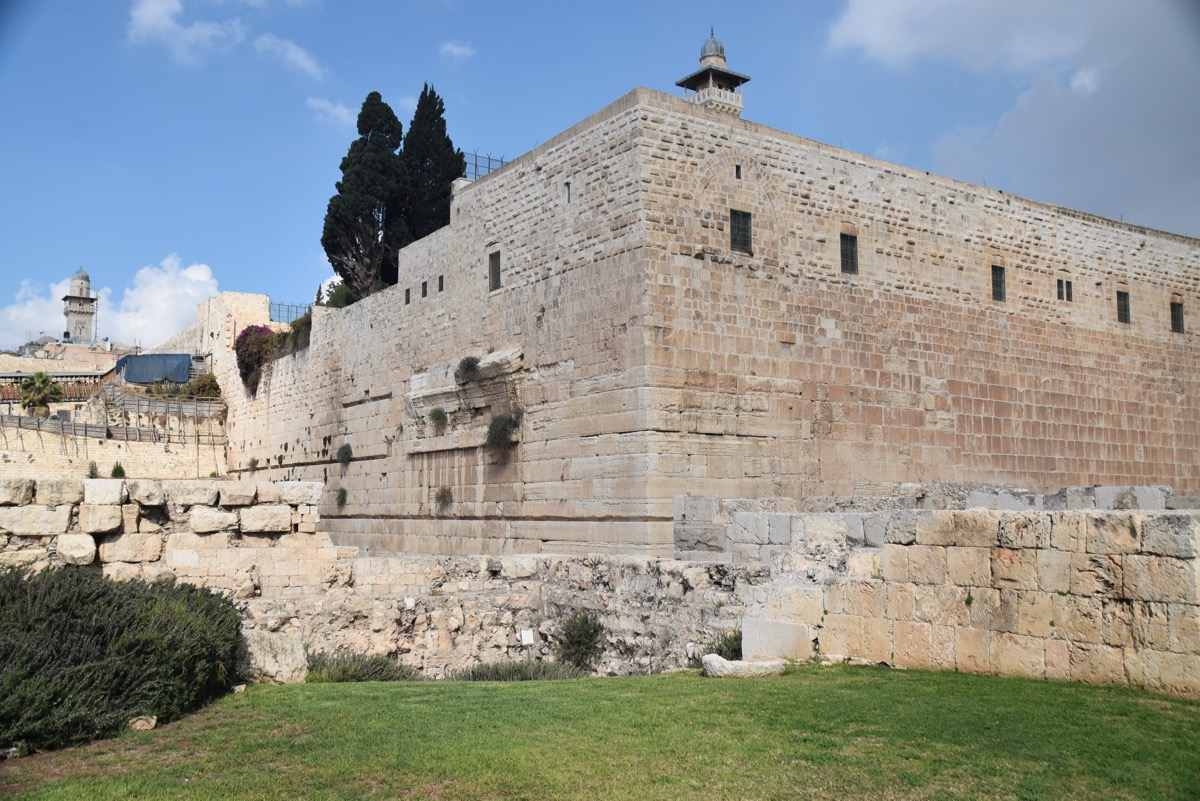 SW corner of the Temple, Jerusalem