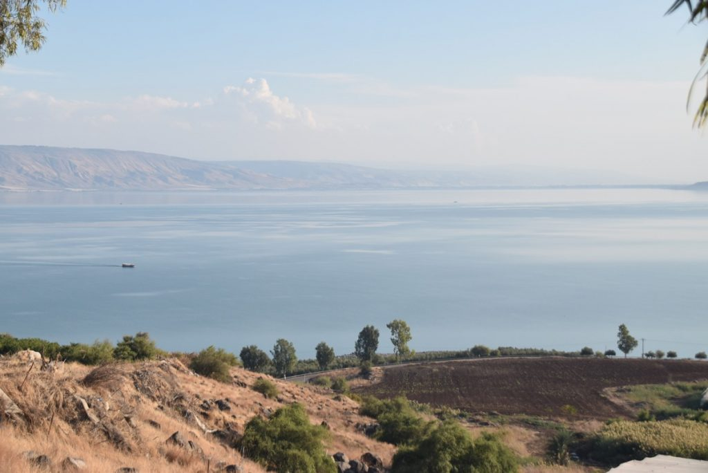 Mt. of Beatitudes November 2018 Israel Tour with John DeLancey