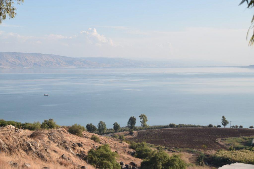 Mt. of Beatitudes November 2018 Israel Tour with John DeLancey