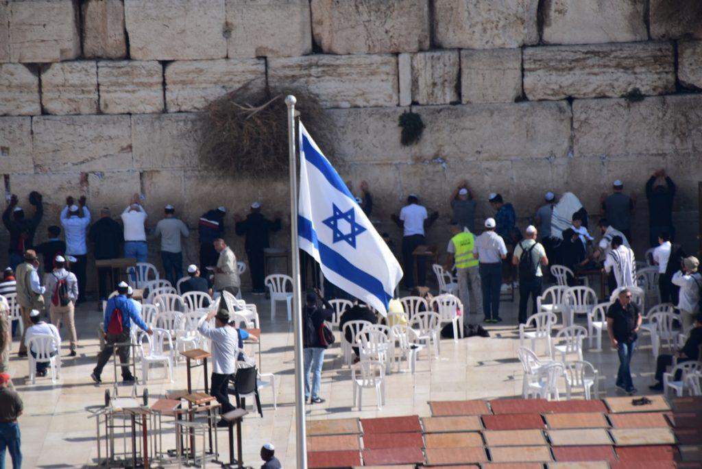 Western Wall November 2018 Israel Tour John DeLancey