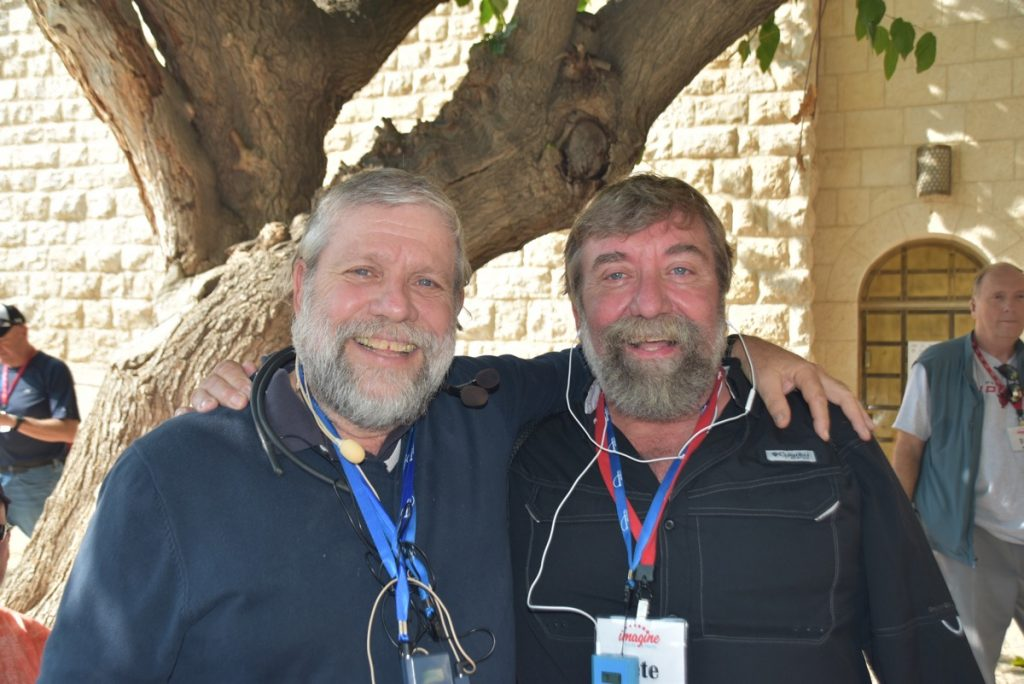 Moshe twin Shorashim November 2018 Israel Tour John DeLancey