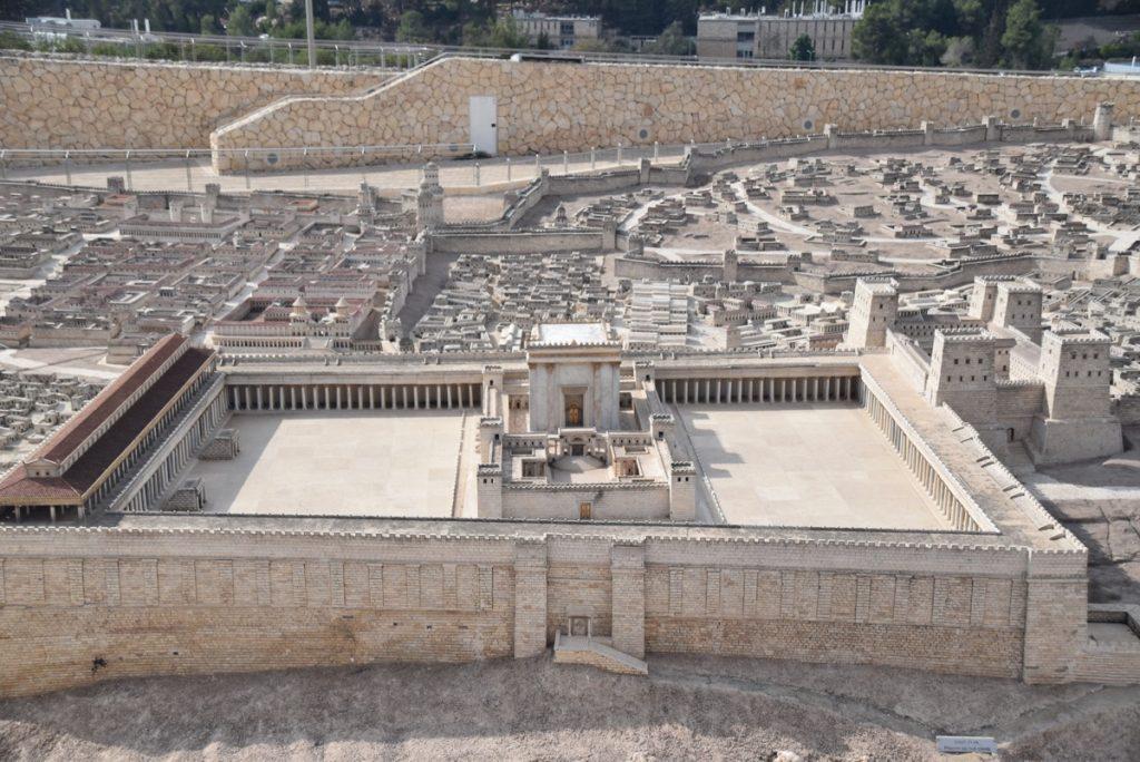 Israel Museum Jerusalem model November 2018 Israel Tour John DeLancey