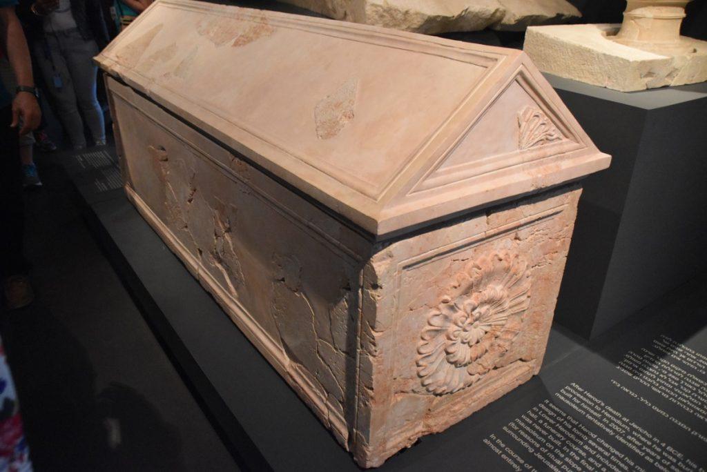 Herod the Great coffin November 2018 Israel Tour John DeLancey