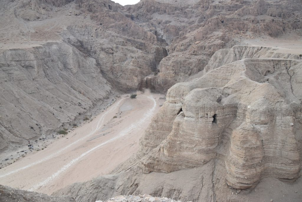 Qumran flash flood Israel Tour Nov 2018 John DeLancey