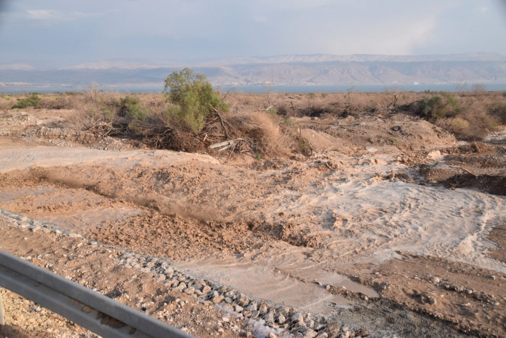 Israel flash flood Israel Tour Nov 2018 John DeLancey