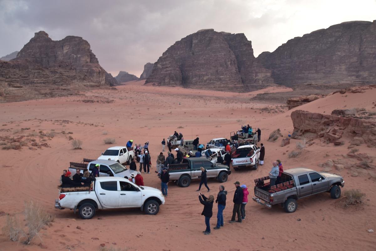 Wadi Rum Jeep Rides Jordan