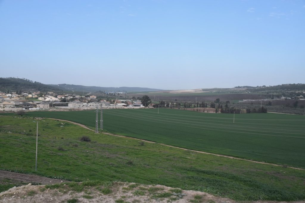 Beth Shemesh Sorek Valley January 2019 Israel Tour