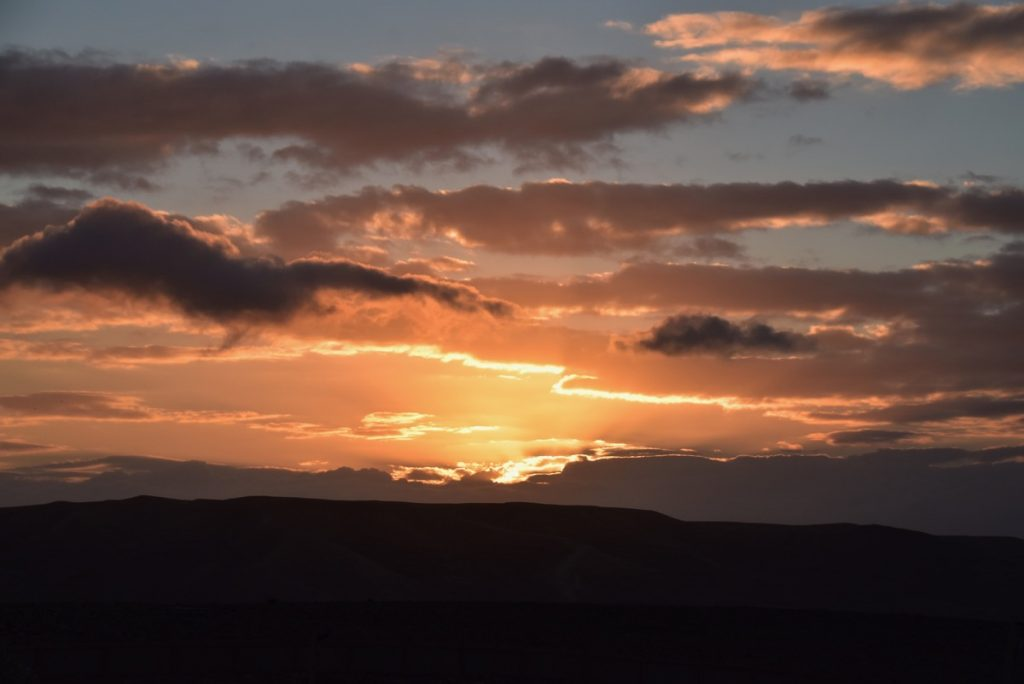Sunrise Judean Desert January 2019 Israel Tour with John Delancey