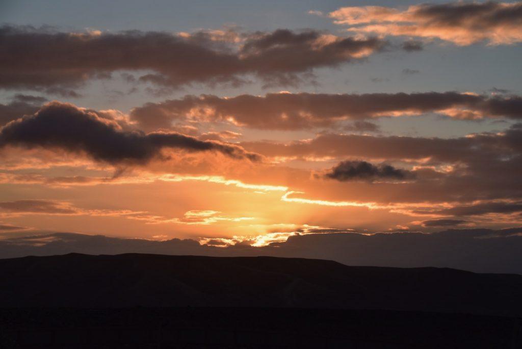 Sunrise Judean Desert January 2019 Israel Tour with John Delancey