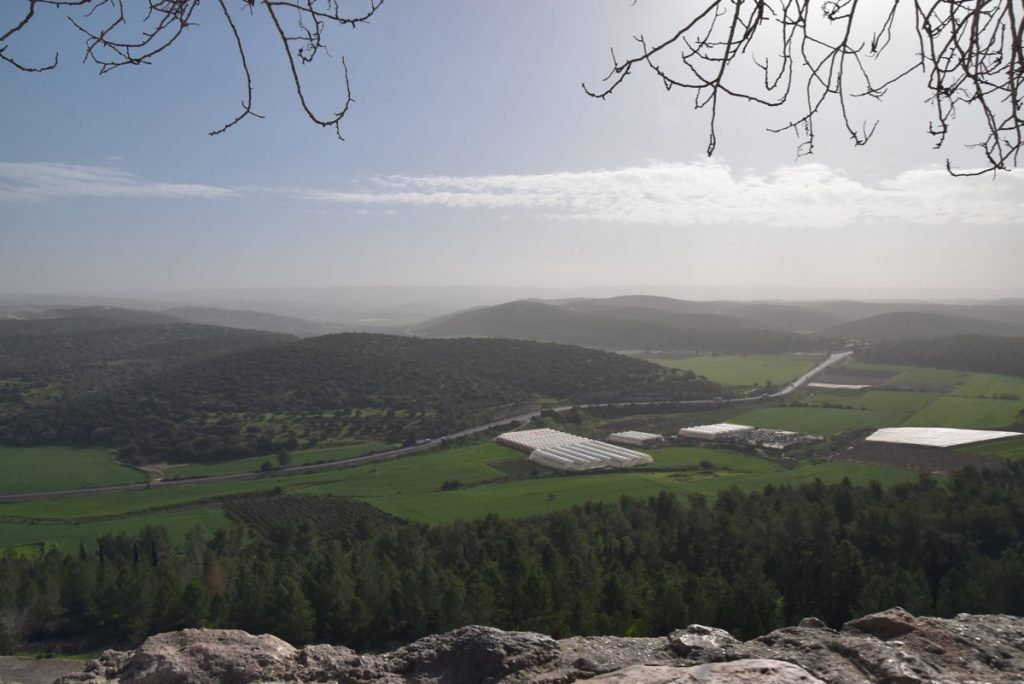 Azekah Elah Valley January 2019 Israel Tour