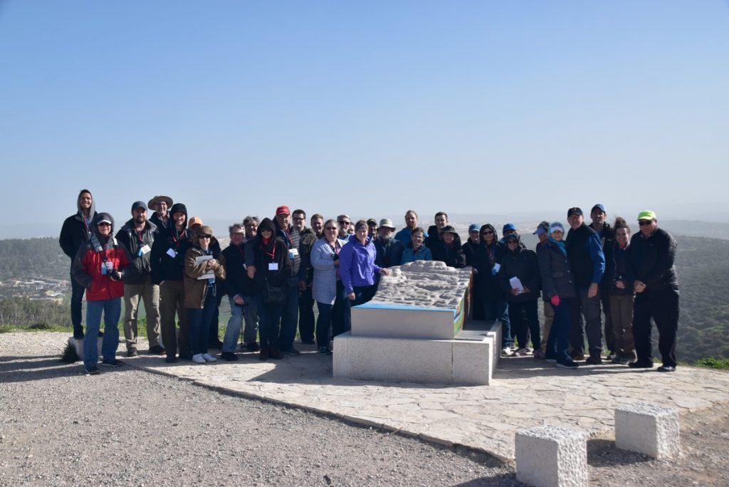 Azekah January 2019 Israel Tour with John Delancey of Biblical Israel Ministries & Tours