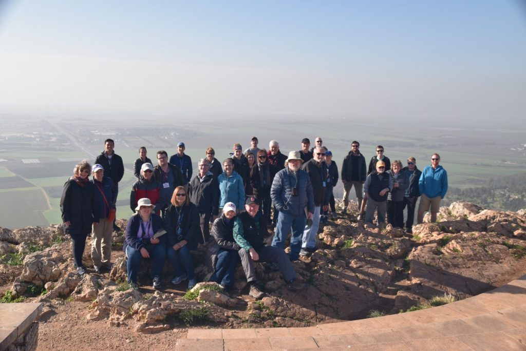 Precipice of Nazareth January 2019 Israel Tour with John Delancey of Biblical Israel Ministries & Tours