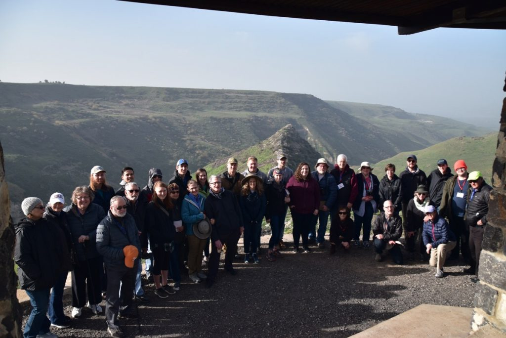Gamla January 2019 Israel Tour with John Delancey of Biblical Israel Ministries & Tours