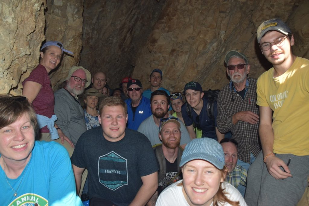 Qumran Cave 1 January 2019 Israel Tour with John Delancey of Biblical Israel Ministries & Tours