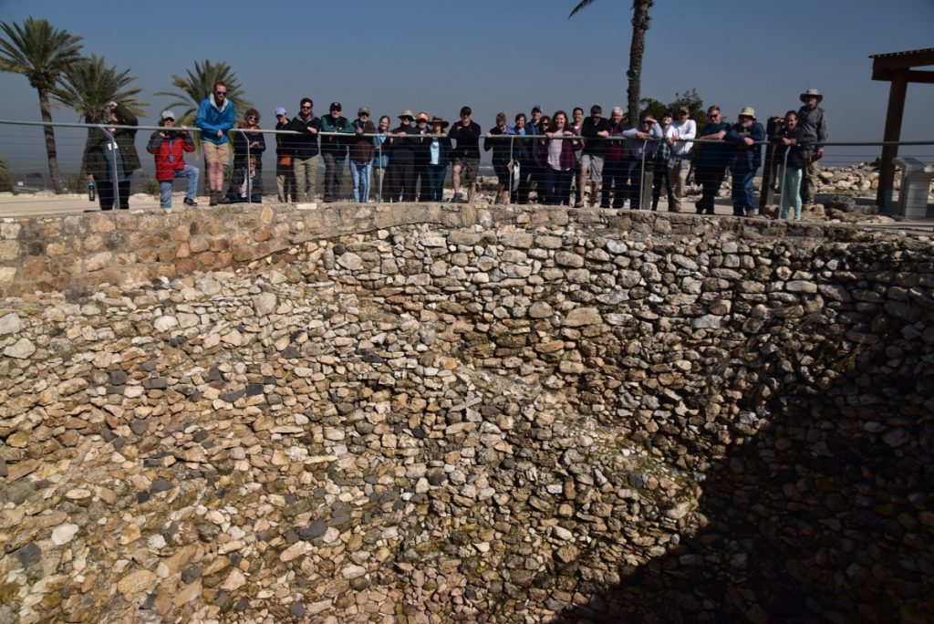 Megiddo January 2019 Israel Tour with John Delancey of Biblical Israel Ministries & Tours