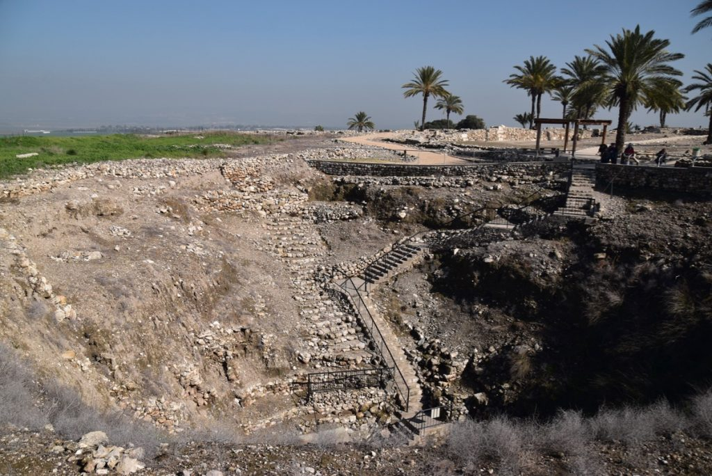 Megiddo January 2019 Israel Tour with John Delancey and BIMT