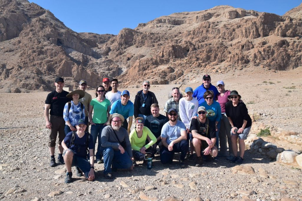 Qumran January 2019 Israel Tour with John Delancey of Biblical Israel Ministries & Tours