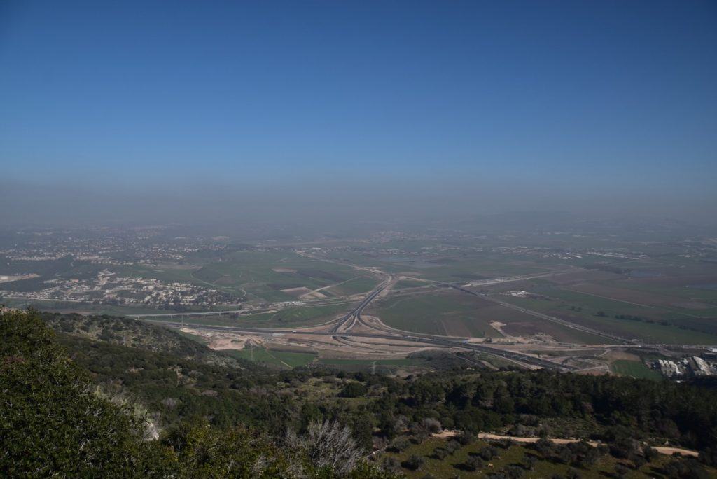 Mt. Carmel Muhraha Jezreel Valley January 2019 Israel Tour with John Delancey and BIMT
