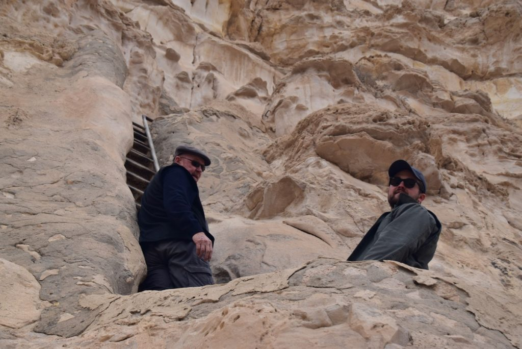 Zin Desert January 2019 Israel Tour with John Delancey