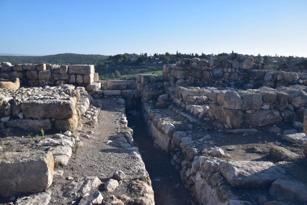 Tel Gezer Israel January 2019 Israel Tour