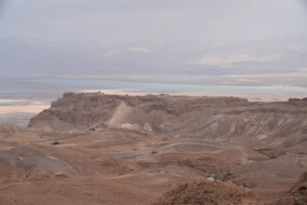 Masada January 2019 Israel Tour with John Delancey
